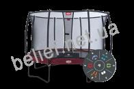 Комплект Батут Berg Elite+ Tattoo 430 cm Red с защитной сеткой T-series