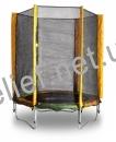 Батут KIDIGO™ 140 см. с защитной сеткой BT140