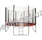 Батут HouseFit HSF 12FT d=3,6м с сеткой и лестницей