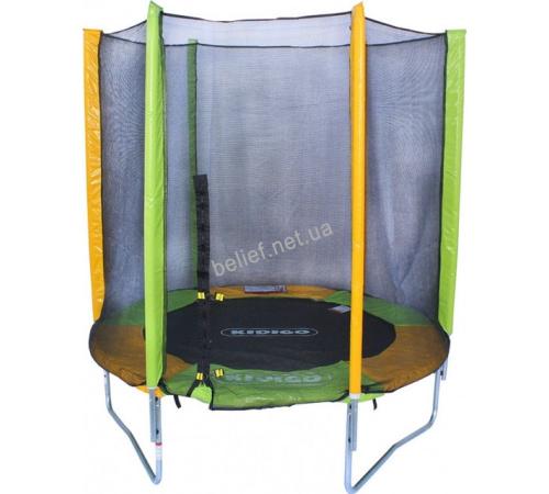 Батут KIDIGO™ 183 см. с защитной сеткой BT183