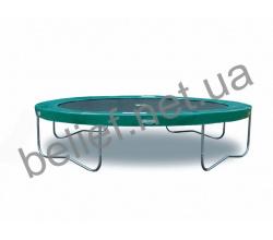 Комплект Батут Berg Elite 14 ft 430 cm green + защитная сетка Т-серии 1