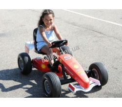 Веломобиль Berg Ferrari F150 Italia pedal go-kart (F1) BFR 3