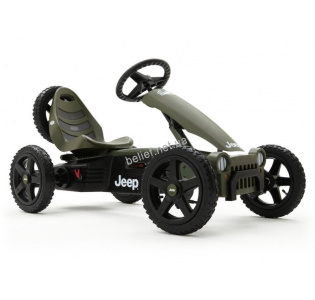 Веломобиль Berg Jeep Adventure pedal go-kart