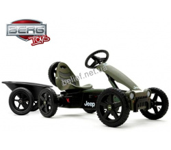 Веломобиль Berg Jeep Adventure pedal go-kart 5