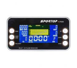 Профессиональный гребной тренажер Sportop R700+ 3