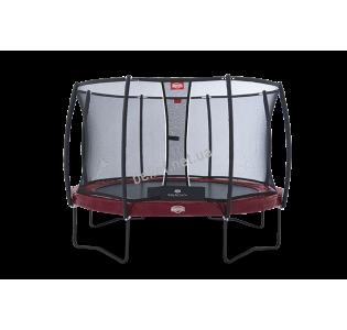 Комплект Батут Berg Elite 14 ft 430 cm red + защитная сетка Т-серии