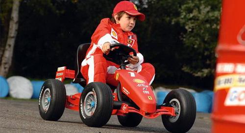 Berg Ferrari F1-3